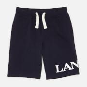 Lanvin Boys' Logo Shorts - Navy