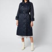 Barbour X Alexa Chung Women's Delia Quilted Jacket - Dk Navy