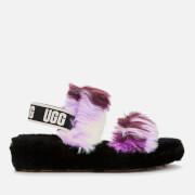 UGG Women's Oh Yeah Tie Dye Slides - Magnolia
