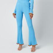 Holzweiler Women's Dahlia Knit Trousers - Light Blue
