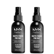 NYX Professional Makeup Setting Spray Duo - Matte