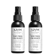 NYX Professional Makeup Setting Spray Duo - Dewy