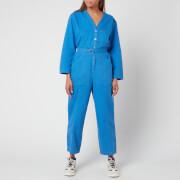 A.P.C. Women's Gaelle Jumpsuit - Blue