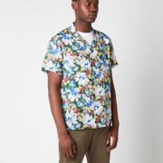 YMC Men's Malick Floral Short Sleeve Shirt - Multi