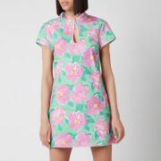 RIXO Women's Lolita Dress - Azalea Bloom Pink