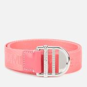 Tommy Jeans Women's Tjw Webbing Essential Belt - Botanical Pink