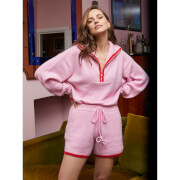 Kitri Women's Harriet Knitted Shorts - Pink