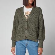 Polo Ralph Lauren Women's Oversized Cardigan - Olive