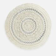 Ganni Women's Cotton Knitted Beret - Egret