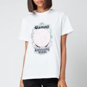 Ganni Women's Embracing Venus T-Shirt - In Bright White