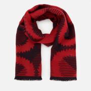 Vivienne Westwood Women's Tartan Squiggle Orb Scarf - Red