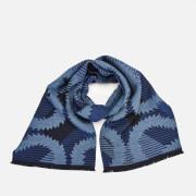 Vivienne Westwood Women's Tartan Squiggle Orb Scarf - Navy Blue