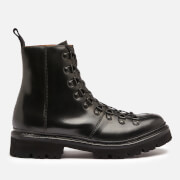 Grenson Women's Nanette Leather Hiking Style Boots - Black