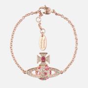 Vivienne Westwood Women's Francette Bas Relief Bracelet - Pink Gold/Rose