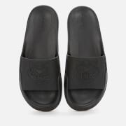 KENZO Women's Tiger Head Pool Slide Sandals - Black