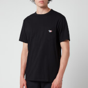 Maison Kitsuné Men's Tricolour Fox Patch Classic Pocket T-Shirt - Black