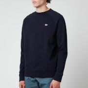 Maison Kitsuné Men's Tricolour Fox Patch Clean Sweatshirt - Navy