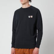 Maison Kitsuné Men's Double Fox Head Patch Classic Sweatshirt - Anthracite