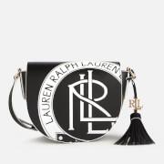 Lauren Ralph Lauren Women's New Smooth Witley Cross Body Bag - Black/Snow White