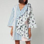 Stine Goya Women's Marina Cotton Dress - Flowermarket Stripes