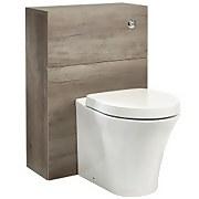 Mino Toilet Unit - Nebraska Oak