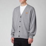KENZO Men's Tiger Crest Buttoned Cardigan - Dove Grey