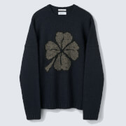 Our Legacy Men's Popover Roundneck Jumper - Lucky Clover