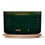 SKANDINAVISK Scented 3 Wick Candle - Skog - 475g