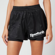 Reebok X Victoria Beckham Women's Rbk Vb 2 In 1 Shorts - Black