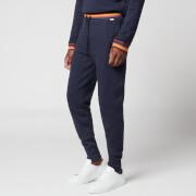 PS Paul Smith Men's Stripe Waistband Jersey Joggers - Navy