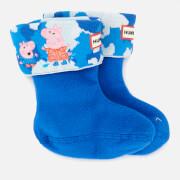 Hunter X Peppa Pig Kids' Boot Sock - Dragonfly Blue