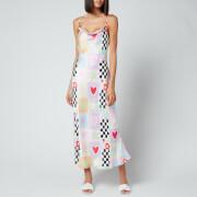 Olivia Rubin Women's Lia Slip Dress - Cut And Paste