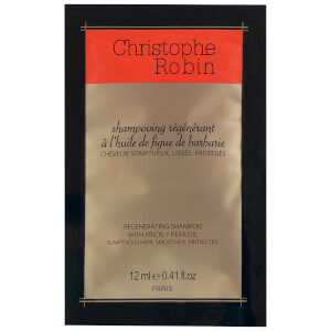 Christophe Robin Regenerating Shampoo with Rare Prickly Pear Oil 12ml (Free Gift) (Worth £6)