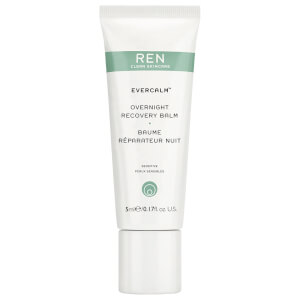 REN Clean Skincare Evercalm Overnight Recovery Balm 5ml (Free Gift)