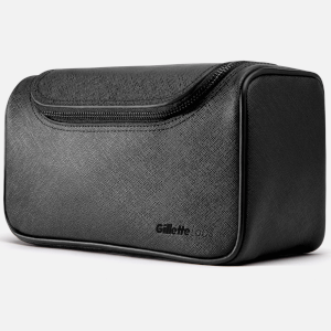 Heated Razor Premium Saffiano Leather Wash Bag (Free Gift)