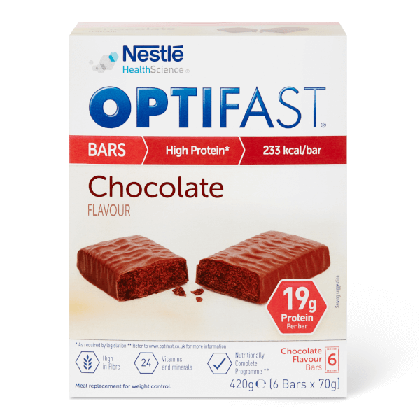 OPTIFAST Meal Bar - Chocolate - Box of 6
