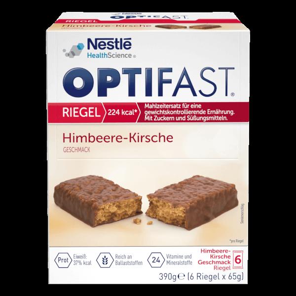 Diät Riegel Himbeere-Kirsch