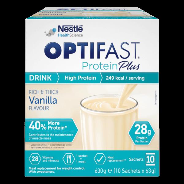 Protein Plus Shakes - Vanilla - Box of 10