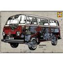 VW Camper Haynes Campervan - Maxi Poster - 61 x 91.5cm