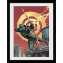 DC Comics Arrow Comic Red - 30x40 Collector Prints