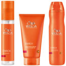 Wella Professionals Enrich Volumizing Trio for Fine to Normal Hair- Shampoo, Conditioner & Elixir