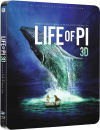 Life of Pi 3D (Includes 2D Version) - Zavvi Exclusive Limited Edition Steelbook (UK EDITION)