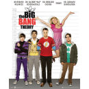 The Big Bang Theory Line Up - Mini Poster - 40 x 50cm