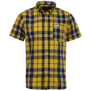 Boxfresh Men's Capito Short Sleeved Shirt - Lemon Chrome