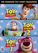 Toy Story 1, 2 y 3