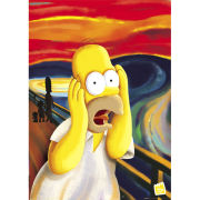 The Simpsons Scream - Maxi Poster - 61 x 91.5cm