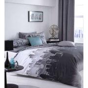 Catherine Lansfield City Scape Bedding Set - Multi