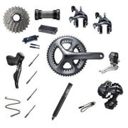 Shimano Ultegra Di2 6870 11 Speed 36/52 Compact Groupset - Grey
