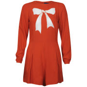 Sugarhill Boutique Women's Paris Nights Playsuit - Coral