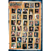 Harry Potter 7 Characters - Maxi Poster - 61 x 91.5cm